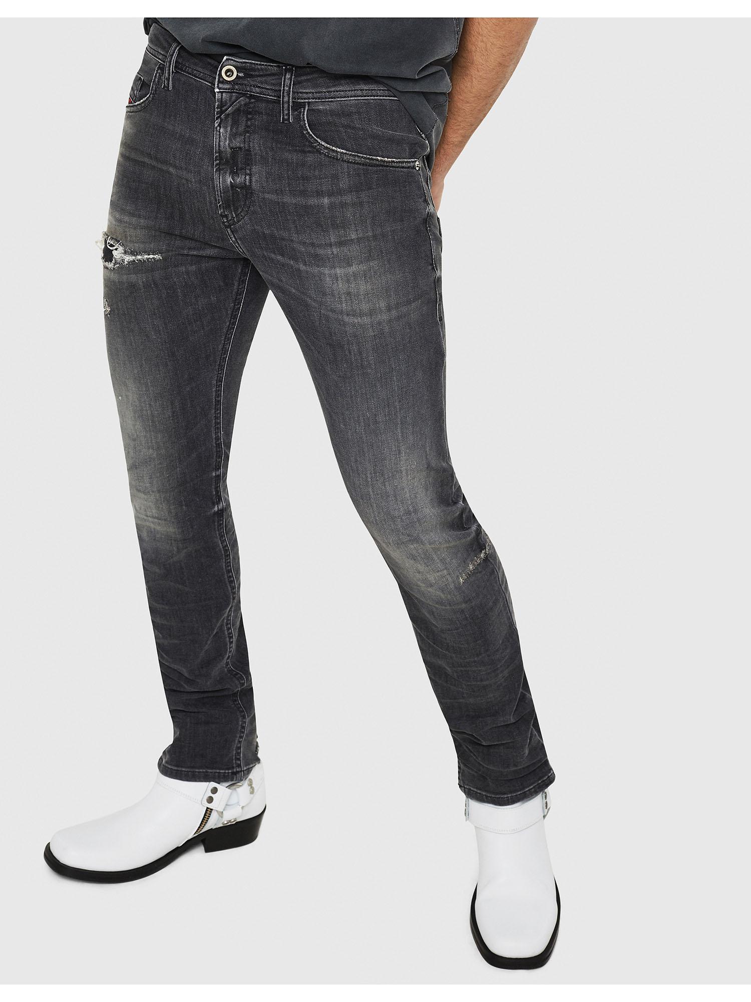 1b4e4fa6cce3 THOMMER 069DM Herren: Slim Jeans Schwarz/Dunkelgrau | Diesel