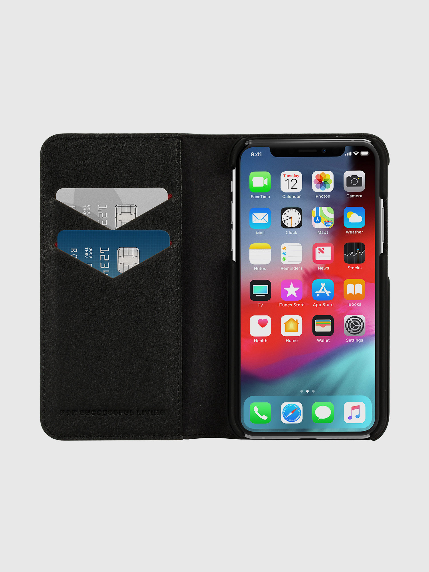 Diesel - DIESEL 2-IN-1 FOLIO CASE FOR IPHONE XS & IPHONE X,  - Klappcover - Image 7