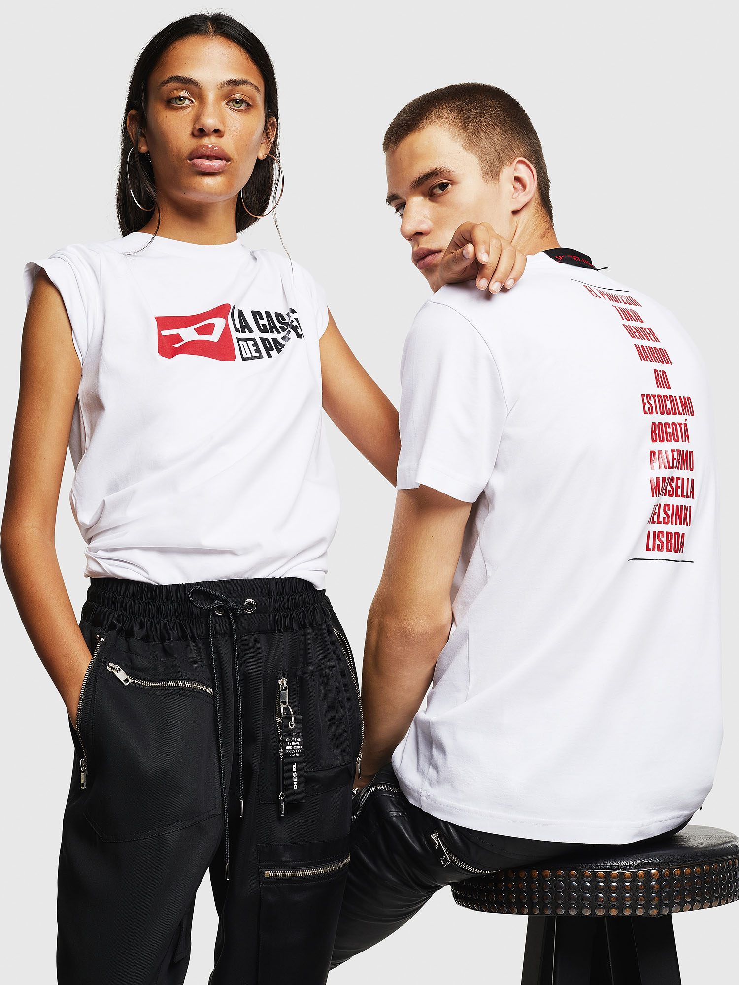Diesel - LCP-T-DIEGO-CASA,  - T-Shirts - Image 6