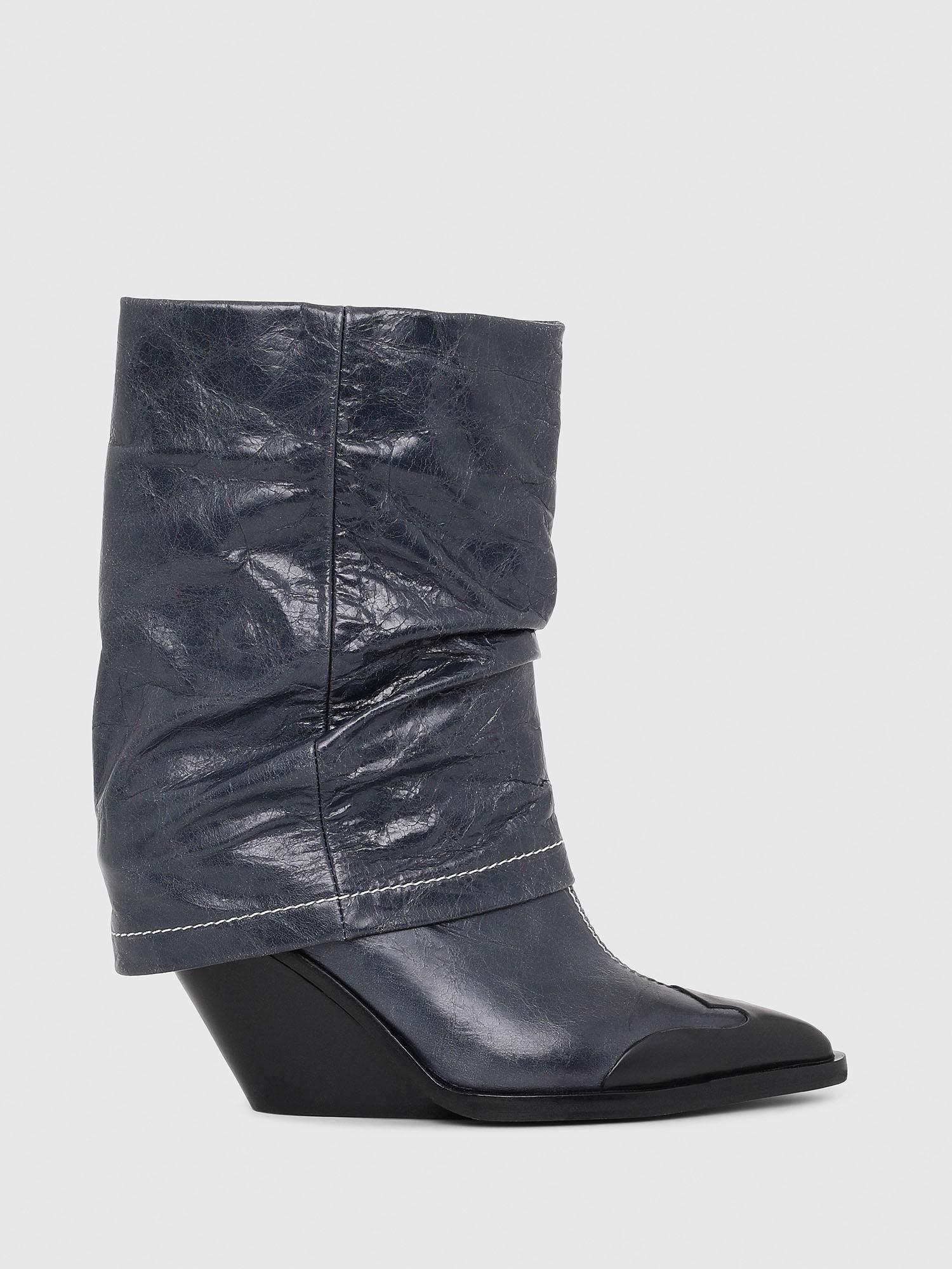 hot sale online 604af 50f9f D-WEST MB Damen: Ankle boots aus leder | Diesel