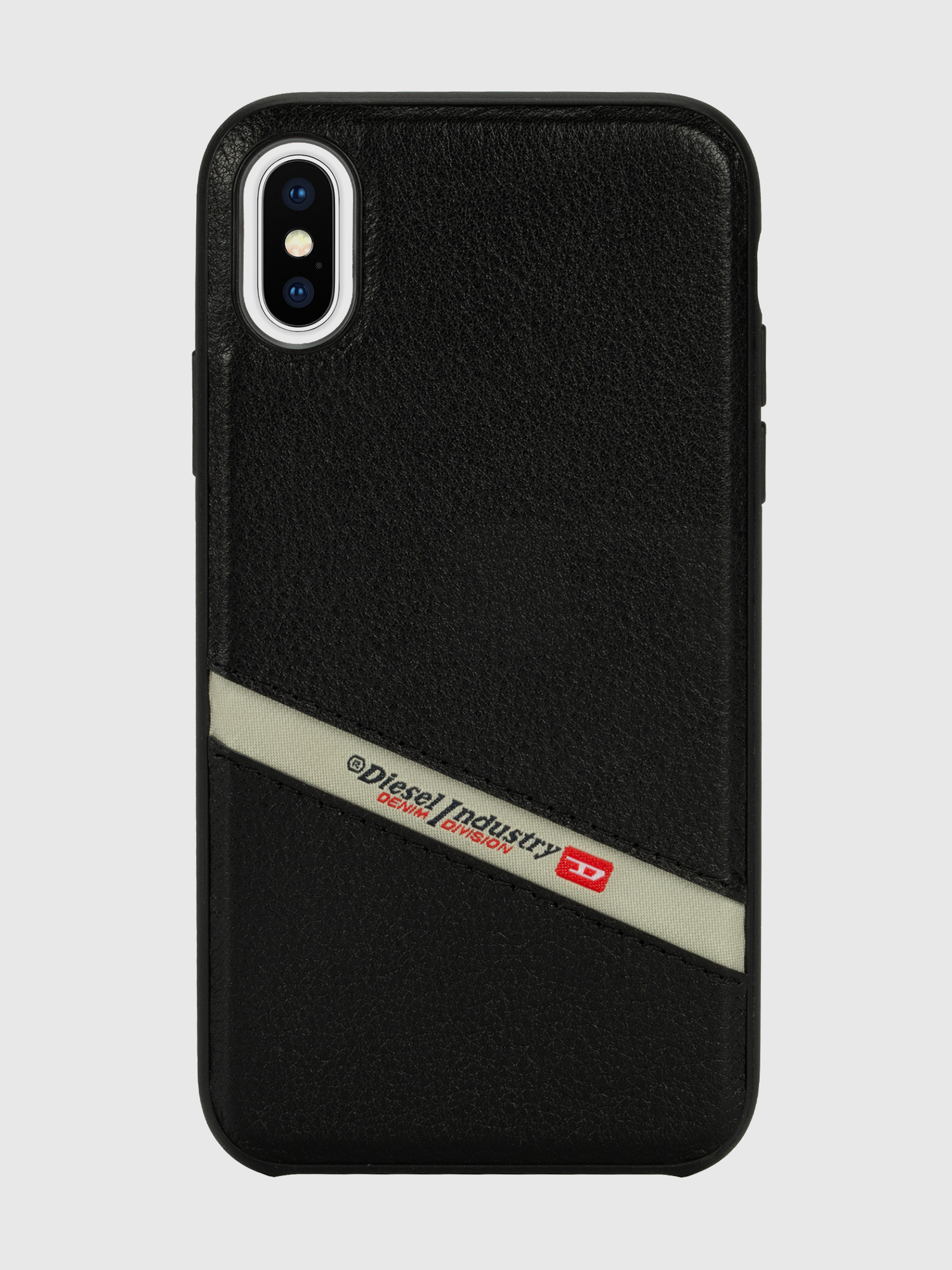 Diesel - DIESEL LEATHER CO-MOLD CASE FOR IPHONE XS & IPHONE X,  - Schutzhüllen - Image 2