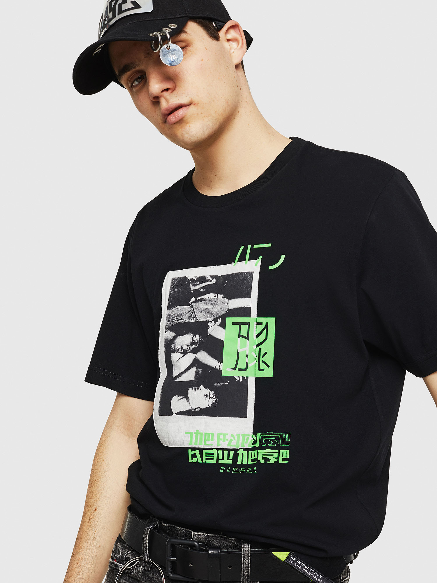 Diesel - T-JUST-Y21,  - T-Shirts - Image 4