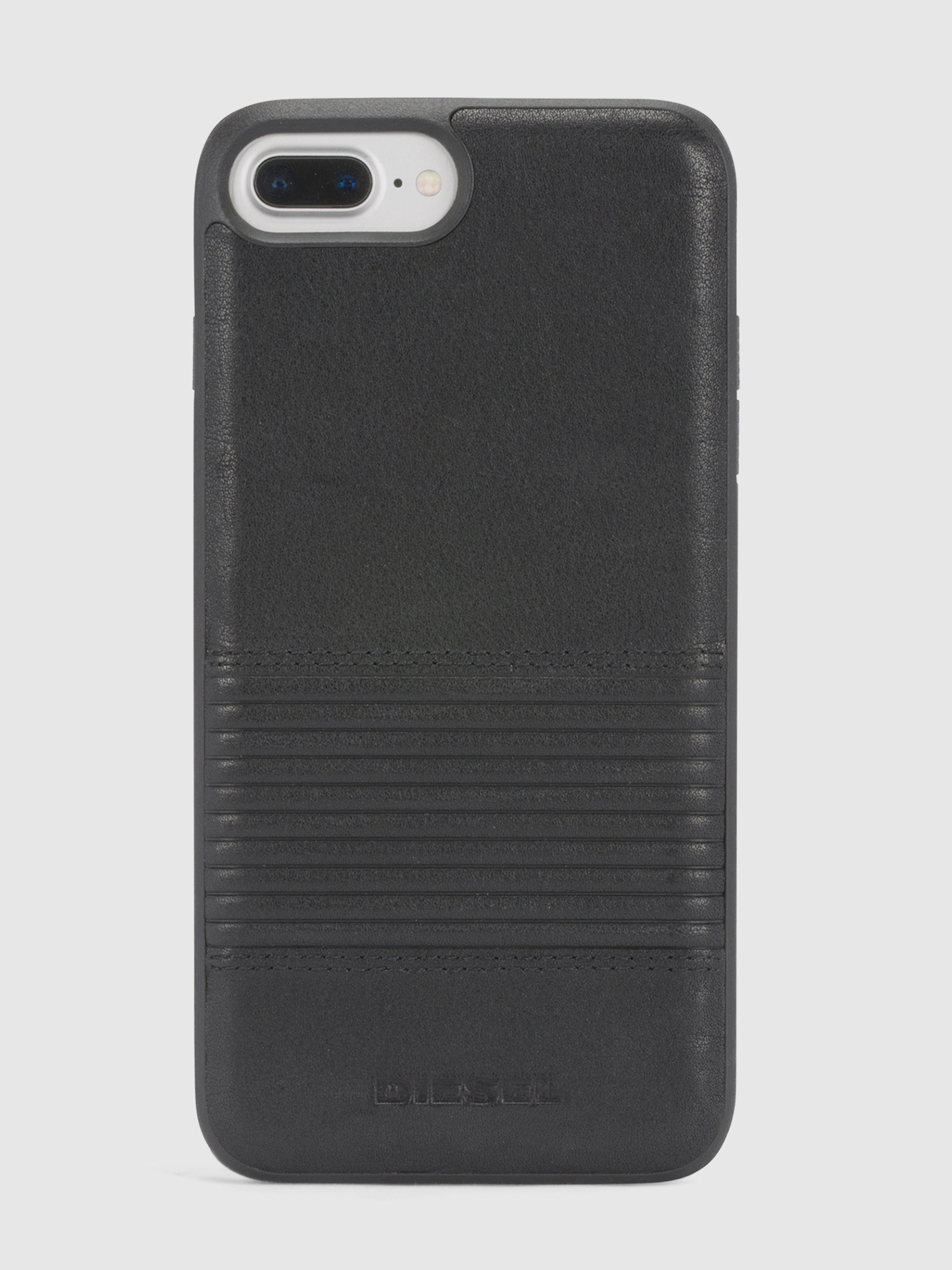 Diesel - BLACK LINED LEATHER IPHONE 8/7/6s/6 CASE,  - Schutzhüllen - Image 2
