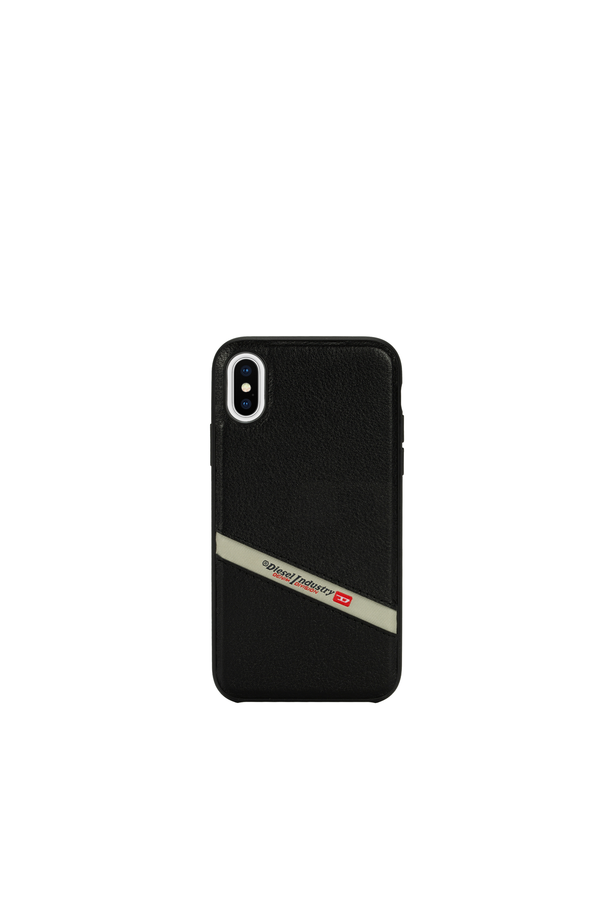 Diesel - DIESEL LEATHER CO-MOLD CASE FOR IPHONE XS & IPHONE X,  - Schutzhüllen - Image 4