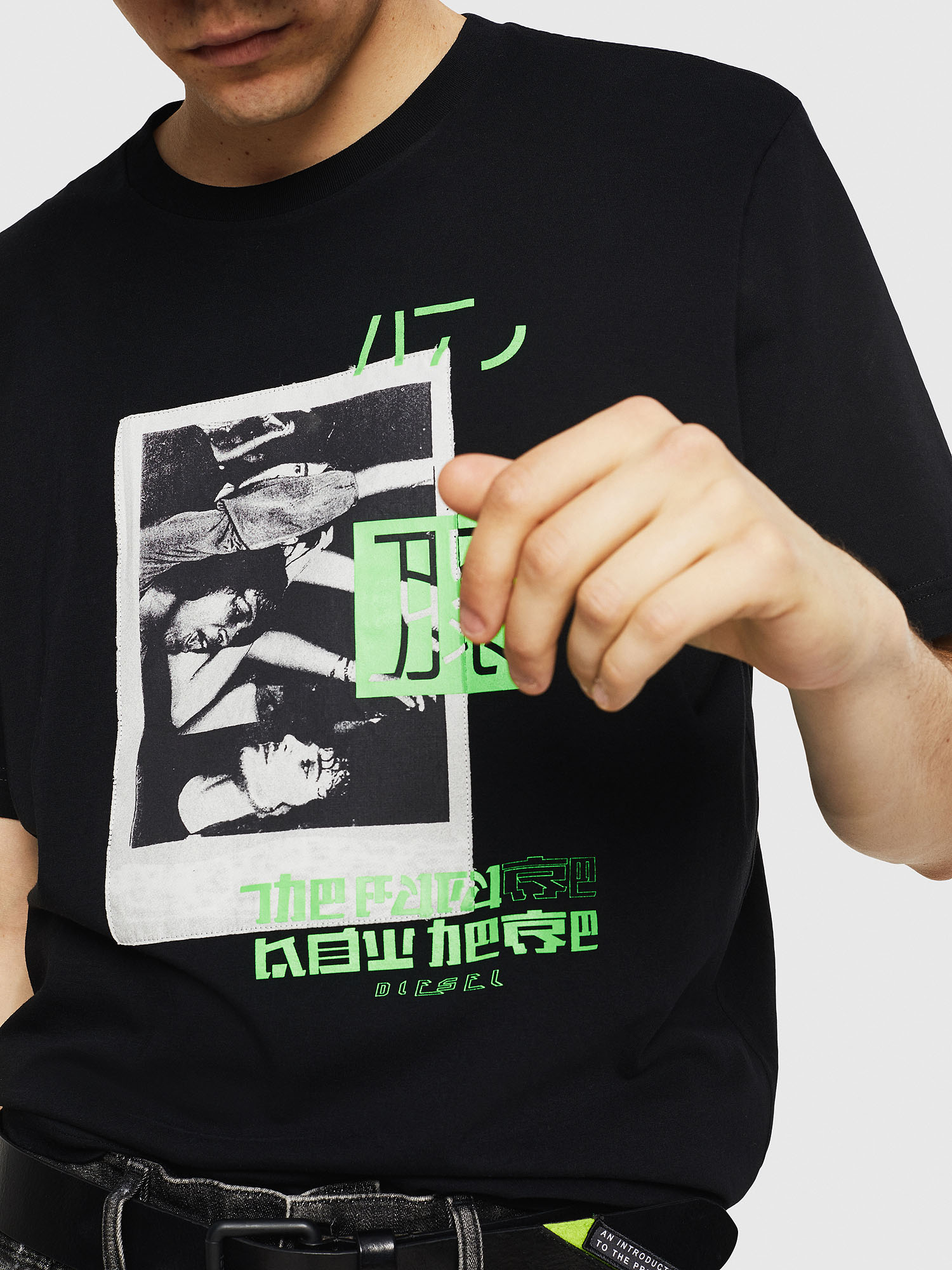 Diesel - T-JUST-Y21,  - T-Shirts - Image 3